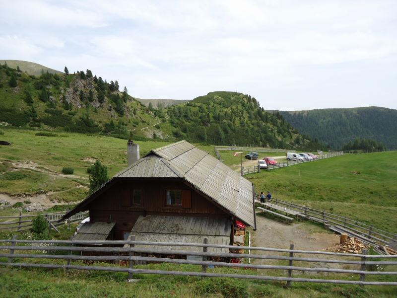 Foto: Günter Siegl / Wander Tour / Rosennock - höchste Erhebung der Kärntner Nockberge (2440m) / Erlacher Bockhütte / 10.08.2013 19:57:48