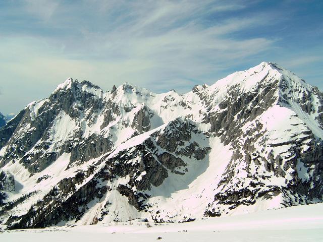 Foto: Andreas Koller / Wander Tour / Gsuchmauer und Stadelfeldschneid - zwei prächtige Aussichtsgipfel im Gesäuse (2116m) / 27.01.2009 19:55:25