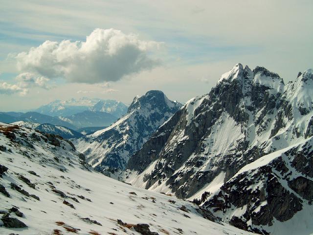 Foto: Andreas Koller / Wander Tour / Gsuchmauer und Stadelfeldschneid - zwei prächtige Aussichtsgipfel im Gesäuse (2116m) / 27.01.2009 19:54:38