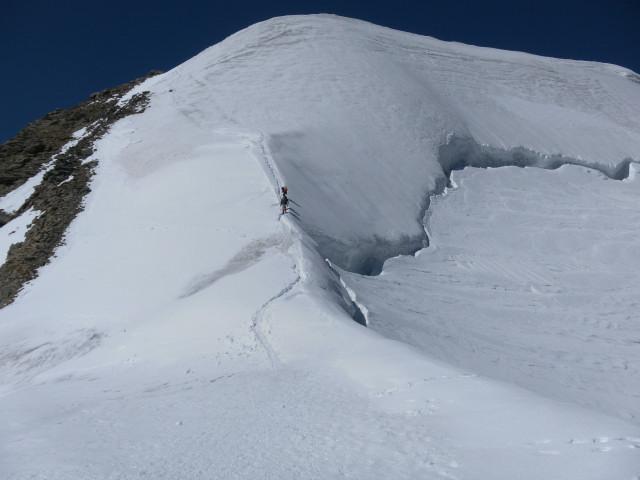 Foto: Wolfgang Lauschensky / Wander Tour / Piz Palü - Eisriese in der Berninagruppe (3905 m) / Ostgrat / 04.11.2013 20:19:55
