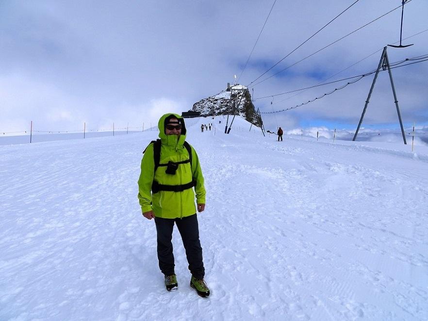 Foto: Andreas Koller / Wander Tour / Vom Kleinen Matterhorn auf das Breithorn Westgipfel (4164 m) / 23.09.2015 01:51:26
