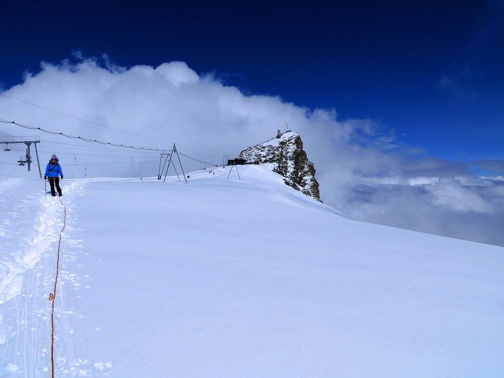 Foto: Andreas Koller / Wander Tour / Vom Kleinen Matterhorn auf das Breithorn Westgipfel (4164 m) / 23.09.2015 01:50:48