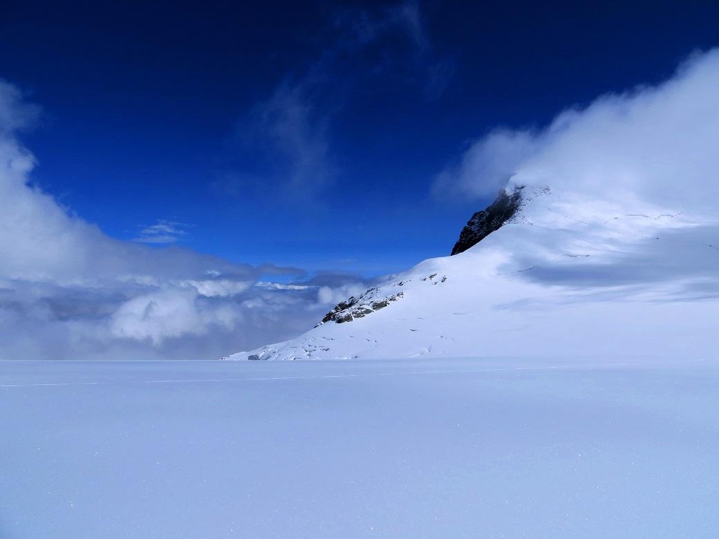 Foto: Andreas Koller / Wander Tour / Vom Kleinen Matterhorn auf das Breithorn Westgipfel (4164 m) / 23.09.2015 01:50:42