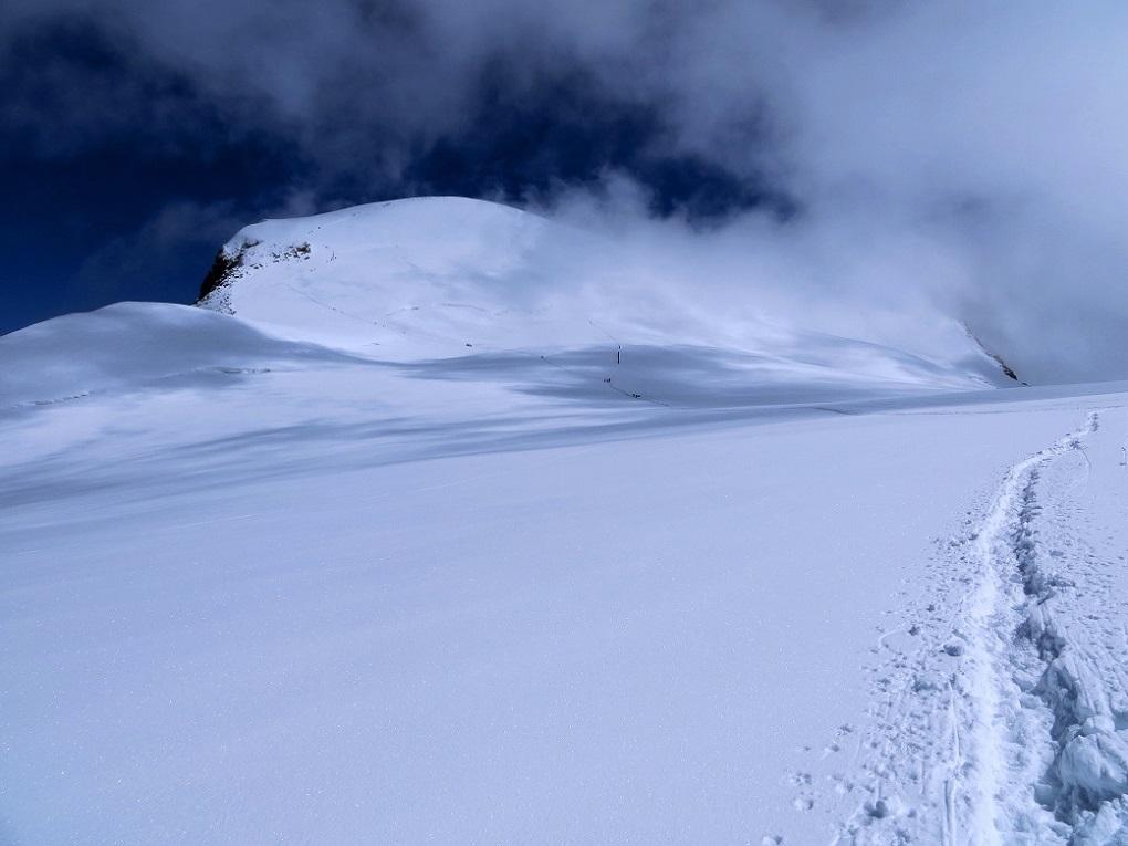 Foto: Andreas Koller / Wander Tour / Vom Kleinen Matterhorn auf das Breithorn Westgipfel (4164 m) / 23.09.2015 01:50:34