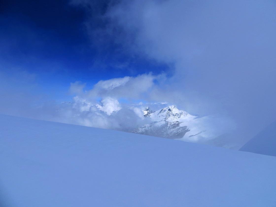 Foto: Andreas Koller / Wander Tour / Vom Kleinen Matterhorn auf das Breithorn Westgipfel (4164 m) / 23.09.2015 01:48:41