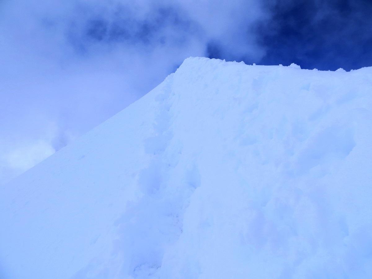 Foto: Andreas Koller / Wander Tour / Vom Kleinen Matterhorn auf das Breithorn Westgipfel (4164 m) / Grat zum Gipfel / 23.09.2015 01:48:24