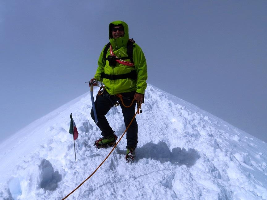 Foto: Andreas Koller / Wander Tour / Vom Kleinen Matterhorn auf das Breithorn Westgipfel (4164 m) / 23.09.2015 01:47:44