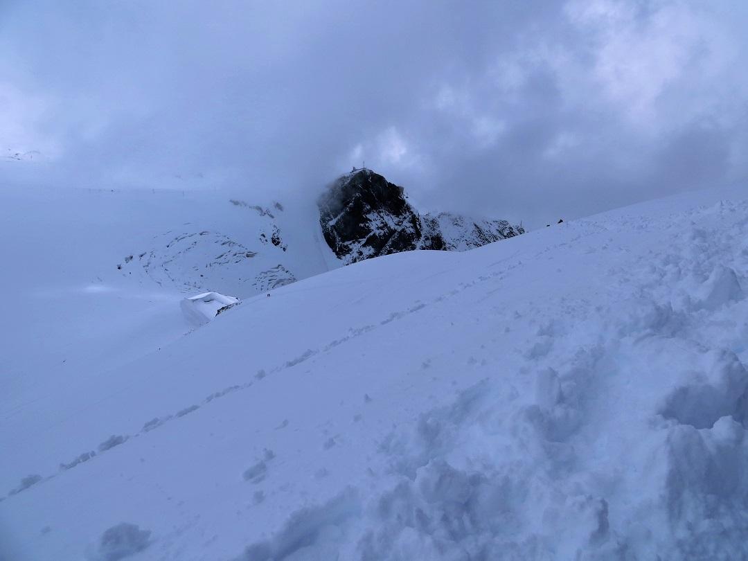Foto: Andreas Koller / Wander Tour / Vom Kleinen Matterhorn auf das Breithorn Westgipfel (4164 m) / 23.09.2015 01:47:20