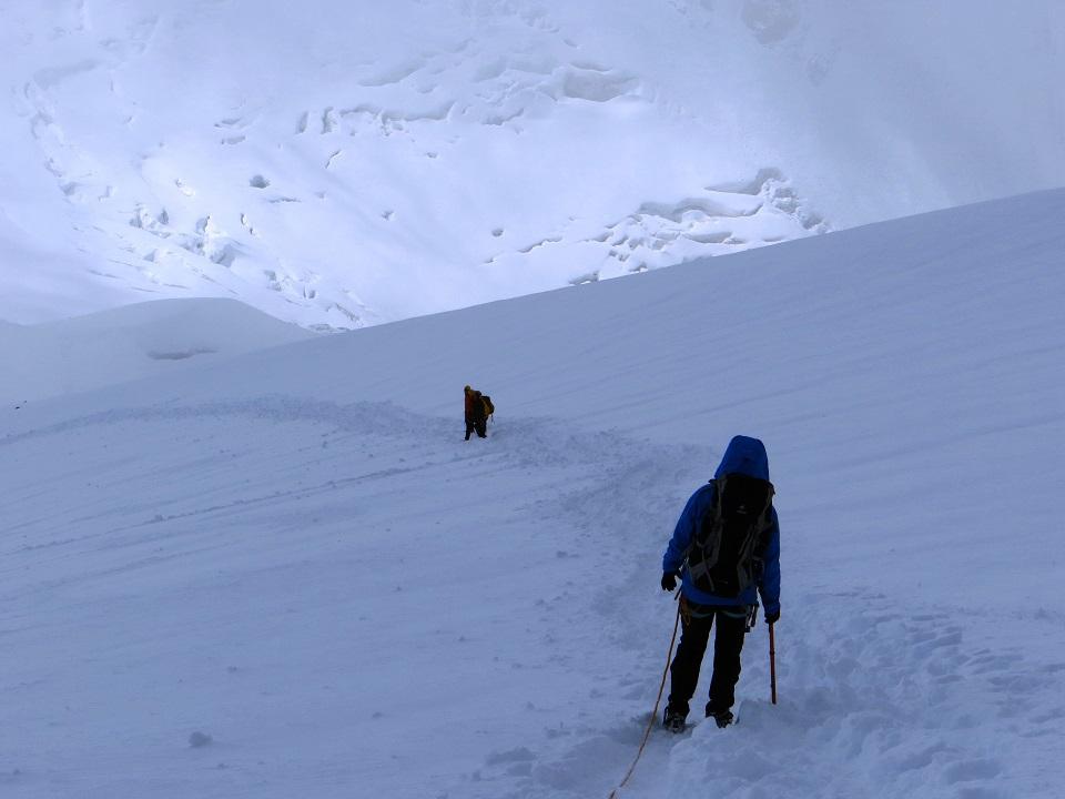 Foto: Andreas Koller / Wander Tour / Vom Kleinen Matterhorn auf das Breithorn Westgipfel (4164 m) / 23.09.2015 01:46:53