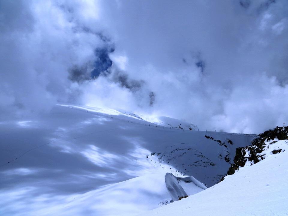 Foto: Andreas Koller / Wander Tour / Vom Kleinen Matterhorn auf das Breithorn Westgipfel (4164 m) / 23.09.2015 01:46:13