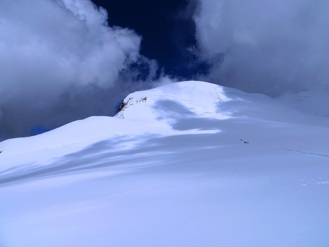 Foto: Andreas Koller / Wander Tour / Vom Kleinen Matterhorn auf das Breithorn Westgipfel (4164 m) / 23.09.2015 01:45:26