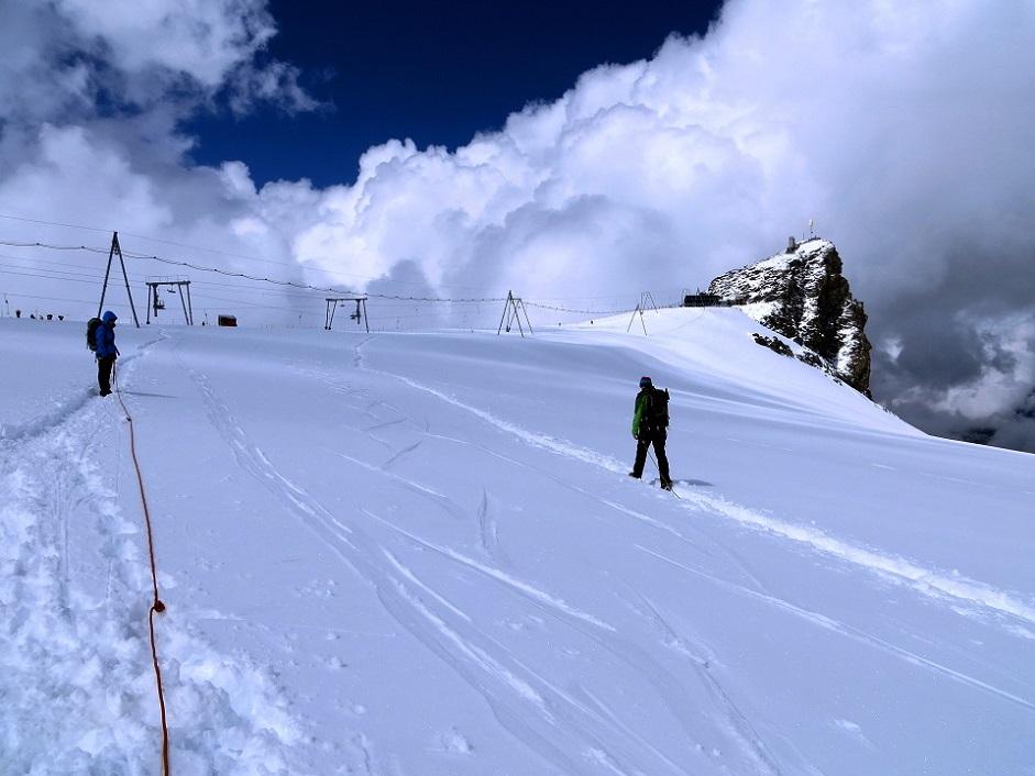 Foto: Andreas Koller / Wander Tour / Vom Kleinen Matterhorn auf das Breithorn Westgipfel (4164 m) / 23.09.2015 01:45:12