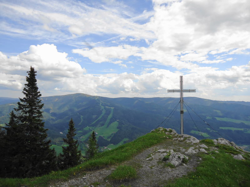 Foto: Günter Siegl / Wander Tour / Von Mürzzuschlag über die Kampalpe auf den Semmering / Kampalpe / 10.06.2015 14:50:37