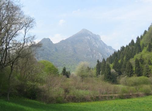 Foto: pepi4813 / Wander Tour / Monte Misone - Panoramablick nördlich des Gardasees / Blick vom Parkplatz zum Monte Misone / 30.05.2009 10:45:41