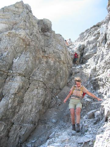 Foto: pepi4813 / Wander Tour / Vom Gschnitztal auf den Gschnitzer Tribulaun / Abstieg zur Schneetalscharte / 18.07.2009 19:20:27