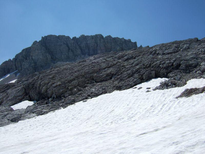 Foto: Ingo Gräber / Wander Tour / Aus dem Riedingtal im Lungau auf das Mosermandl (2680 m) / Blick zurück zum Mosermandl / 05.10.2013 17:48:29
