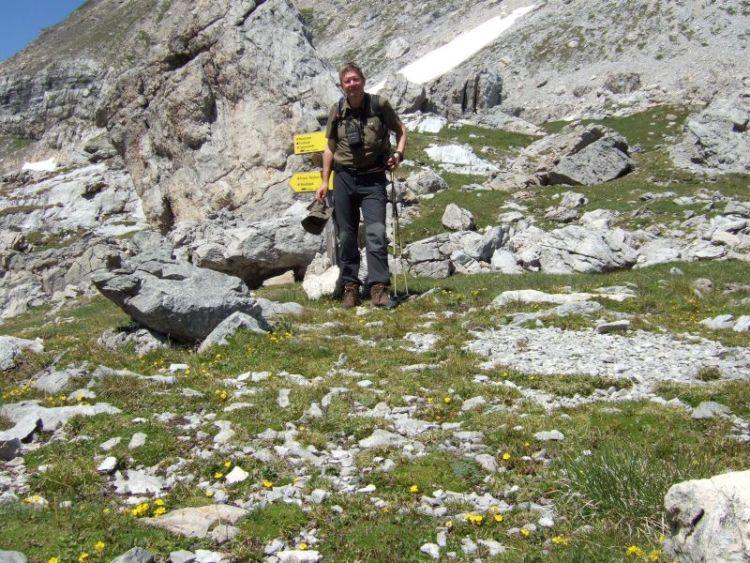 Foto: Ingo Gräber / Wander Tour / Aus dem Riedingtal im Lungau auf das Mosermandl (2680 m) / Windischscharte / 05.10.2013 17:46:28