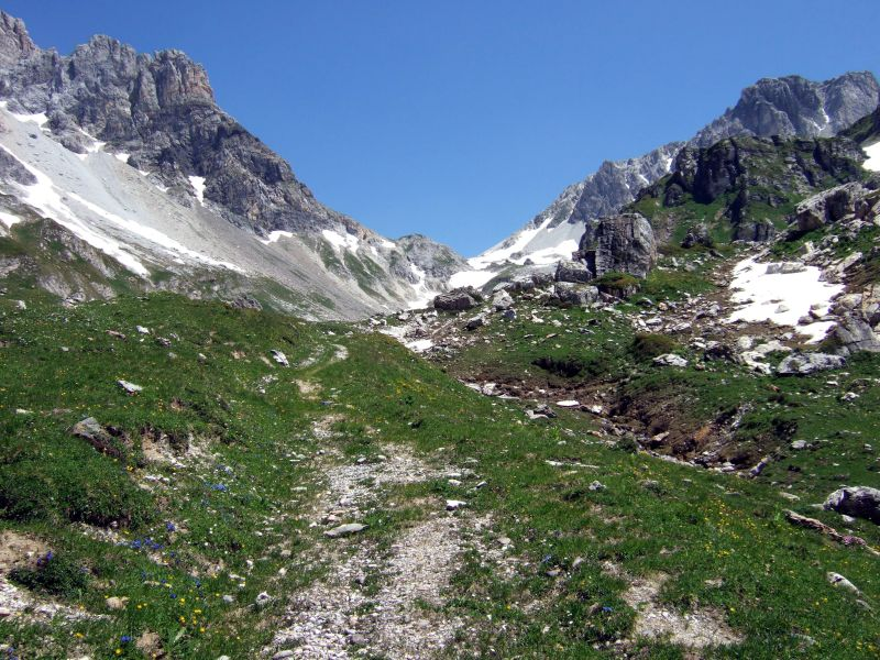 Foto: Ingo Gräber / Wander Tour / Aus dem Riedingtal im Lungau auf das Mosermandl (2680 m) / Im Zaunerkar / 05.10.2013 17:41:27