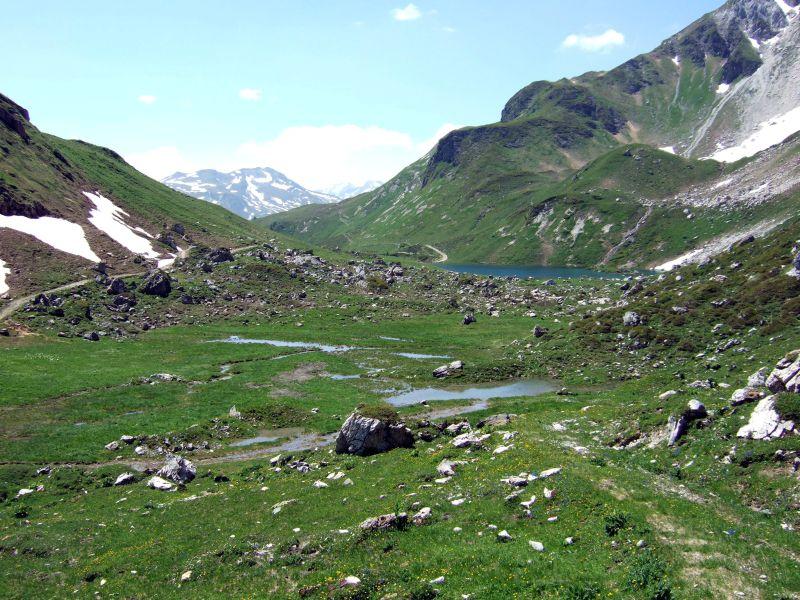 Foto: Ingo Gräber / Wander Tour / Aus dem Riedingtal im Lungau auf das Mosermandl (2680 m) / Zaunersee / 05.10.2013 17:40:44
