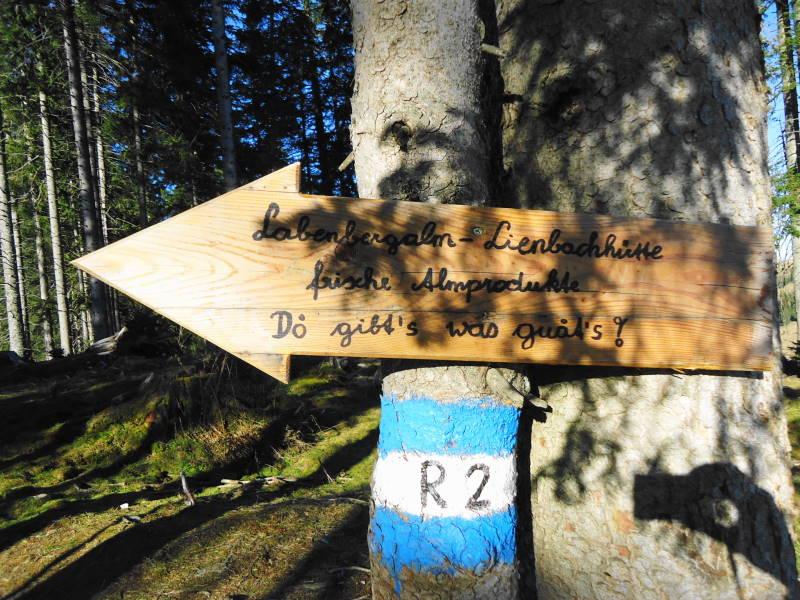 Foto: Günter Siegl / Wander Tour / Von der Postalm auf den Labenberg / Für hungrige Rachen und dürstende Kehlen! / 28.12.2015 19:35:55