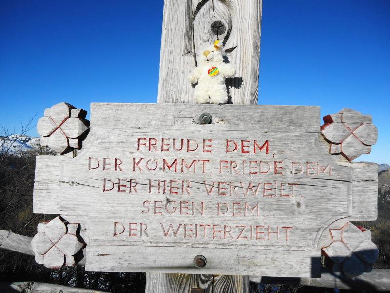 Foto: Günter Siegl / Wander Tour / Von der Postalm auf den Labenberg / Bastily / 28.12.2015 19:31:13