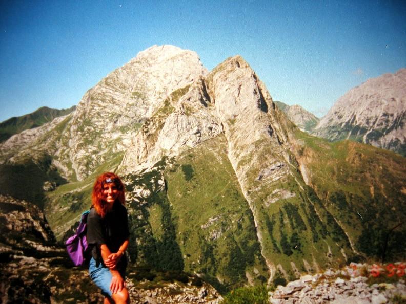Foto: Climber69 / Wandertour / Friedensweg auf den Kleinen Pal , 1.867m / Blick vom Pal auf den Cellon (Frischenkofel, 2.241 m) / 29.12.2007 08:09:24