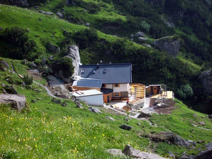 Foto: vince 51 / Wander Tour / Alpjoch - Pleiskopf - Muttekopf / Muttekopfhütte / 14.07.2009 23:31:00