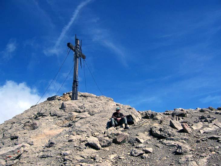 Foto: vince 51 / Wander Tour / Alpjoch - Pleiskopf - Muttekopf / Gipfelrast auf dem Muttekopf / 14.07.2009 23:40:13
