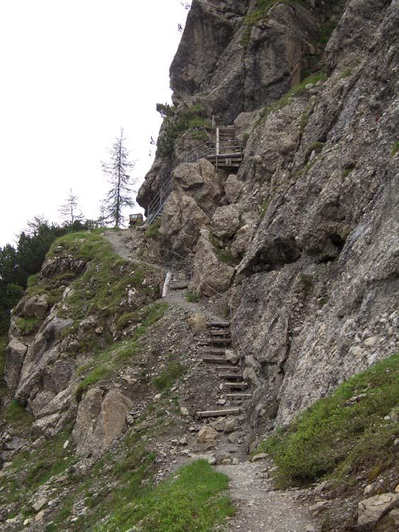 Foto: vince 51 / Wander Tour / Alpjoch - Pleiskopf - Muttekopf / auf dem Drischl-Steig / 14.07.2009 23:28:55