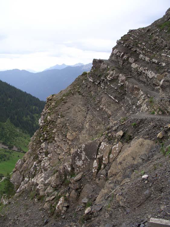 Foto: vince 51 / Wander Tour / Alpjoch - Pleiskopf - Muttekopf / auf dem Drischl-Steig / 14.07.2009 23:24:55