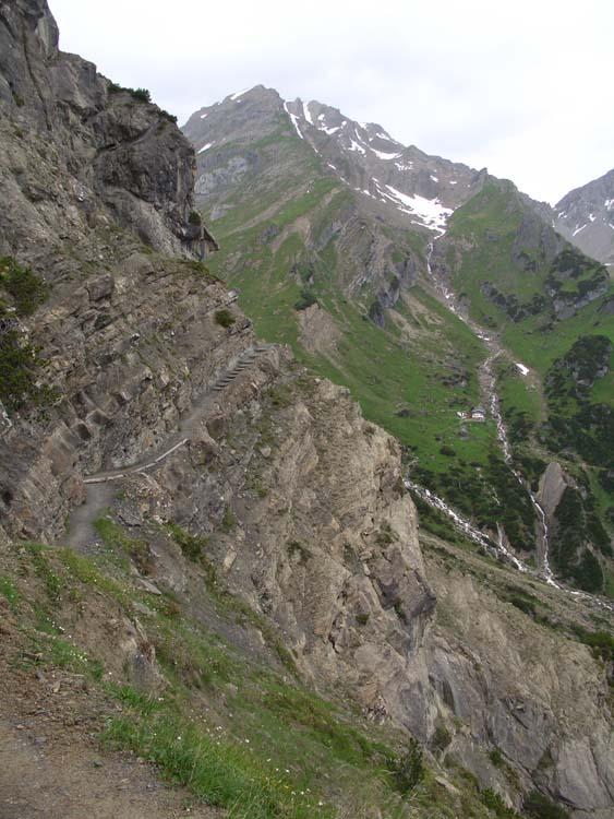 Foto: vince 51 / Wander Tour / Alpjoch - Pleiskopf - Muttekopf / auf dem Drischl-Steig / 14.07.2009 23:24:37