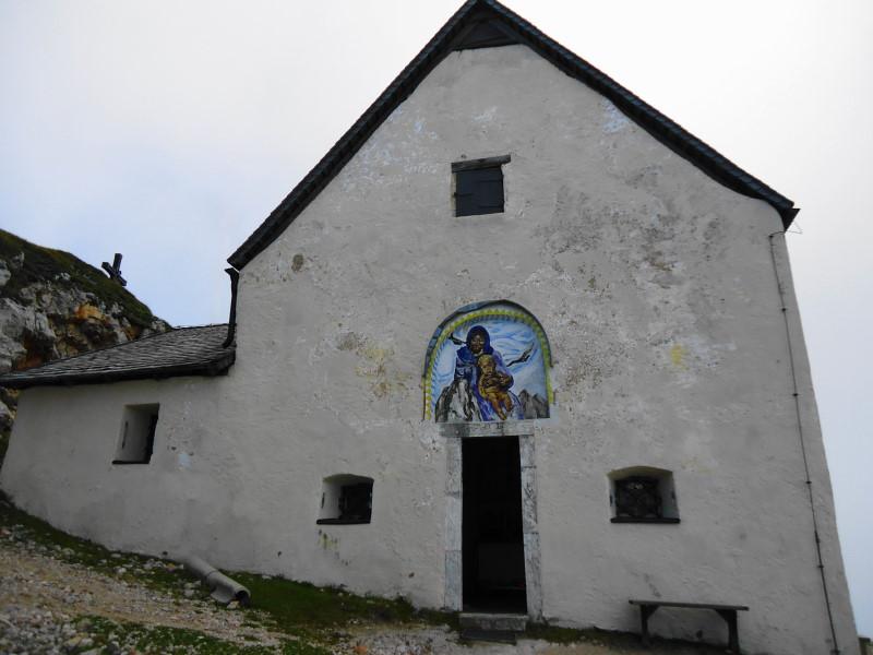Foto: Günter Siegl / Wandertour / Dobratsch - Villacher Hausberg (2166m) / Windische Kirche am Dobratsch / 24.10.2016 21:41:54
