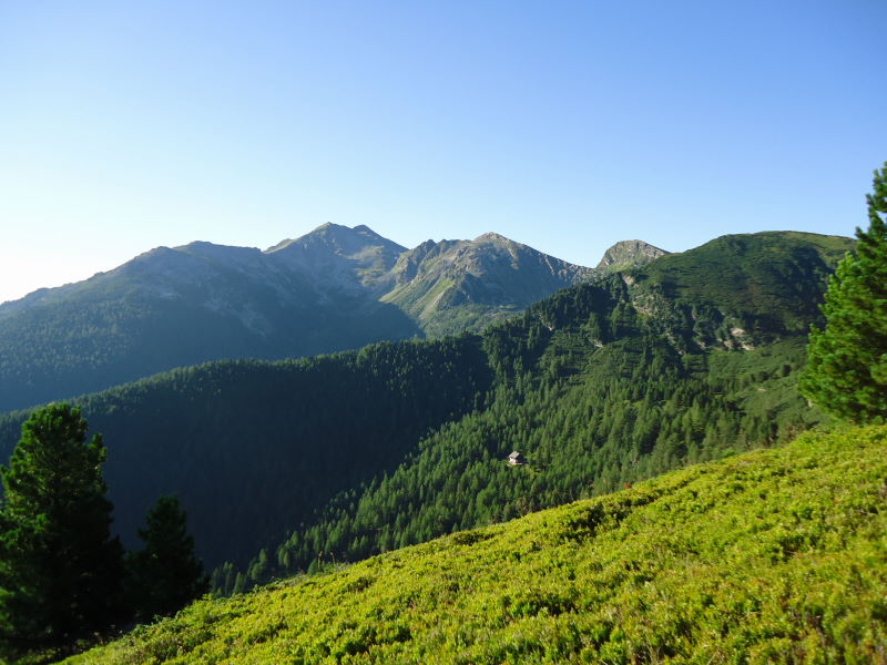 Foto: Günter Siegl / Wander Tour / Stein am Mandl und Seegupf / Hochhaide und Rottenmanner Hütte / 04.08.2013 12:57:34