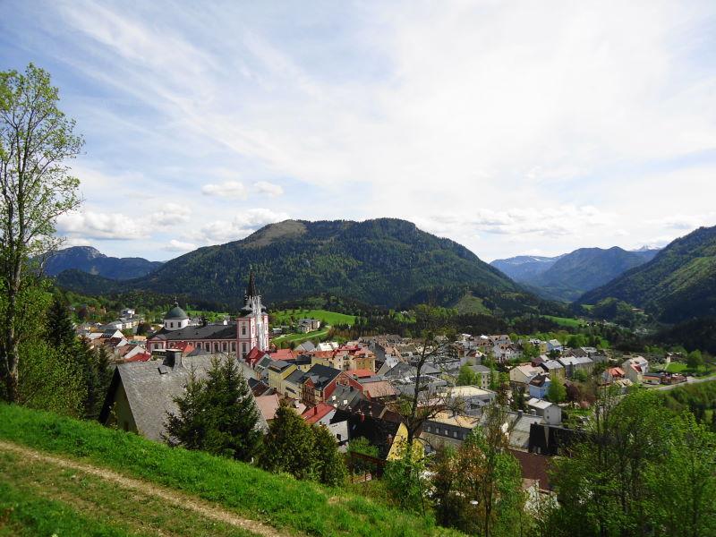 Foto: Günter Siegl / Wander Tour / Von Mariazell auf die Bürgeralpe / Mariazell und Sauwand / 26.05.2016 06:56:46