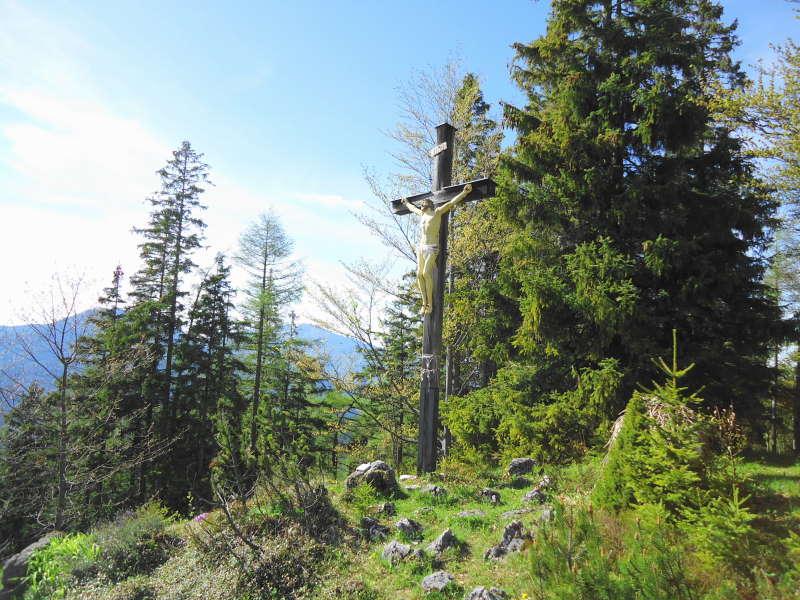 Foto: Günter Siegl / Wander Tour / Von Mariazell auf die Bürgeralpe / Gipfel Bürgeralpe / 26.05.2016 06:54:24