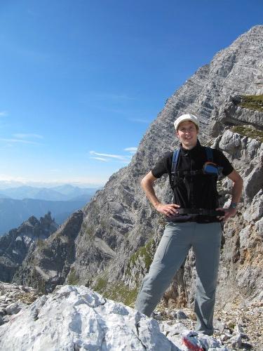 Foto: fabiorrrr / Wander Tour / Über den Lettlkaser und die Passauer Hütte auf den Hochzint / Vor der Birnhorn-Südwand / 01.11.2010 20:54:16