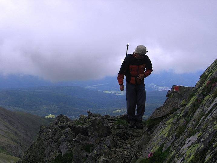 Foto: Andreas Koller / Wander Tour / Vom Prebersee auf das Roteck (2742 m) / 16.08.2010 18:41:22