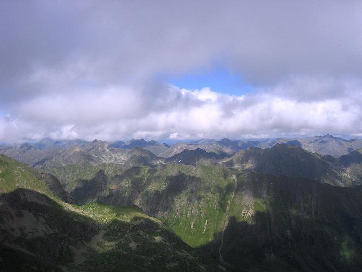 Foto: Andreas Koller / Wander Tour / Vom Prebersee auf das Roteck (2742 m) / Schladminger Tauern / 16.08.2010 18:33:58