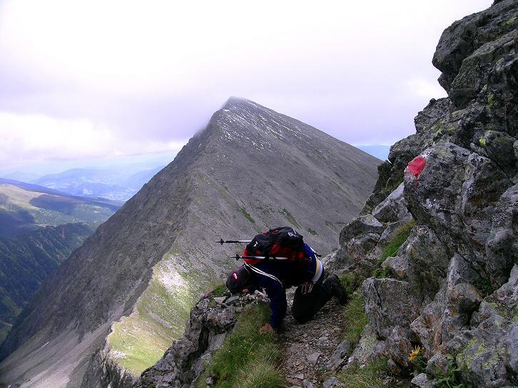 Foto: Andreas Koller / Wander Tour / Vom Prebersee auf das Roteck (2742 m) / So entstehen auf mühsame Weise gute Fotos / 16.08.2010 18:32:28