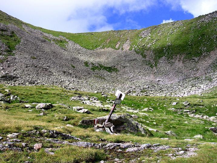 Foto: Andreas Koller / Wander Tour / Vom Prebersee auf das Roteck (2742 m) / Zurück unterm Mühlbachtörl im Preberkessel / 16.08.2010 18:28:27