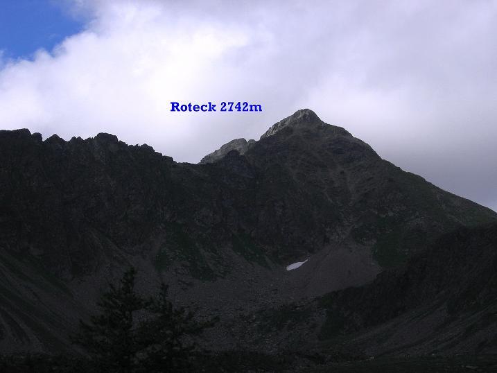 Foto: Andreas Koller / Wander Tour / Vom Prebersee auf das Roteck (2742 m) / 16.08.2010 18:27:00