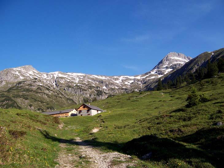 Foto: vince 51 / Wander Tour / Von Lech auf die Hochlichtspitze / Ober Älpele / 17.07.2009 23:38:53