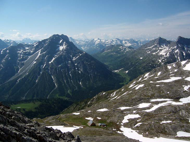 Foto: vince 51 / Wander Tour / Von Lech auf die Hochlichtspitze / 17.07.2009 23:36:53