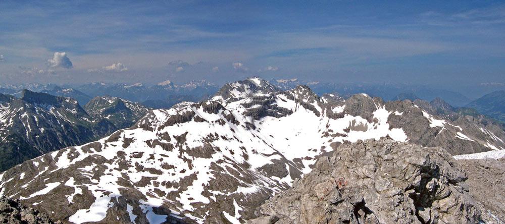 Foto: vince 51 / Wander Tour / Von Lech auf die Hochlichtspitze / 17.07.2009 23:32:40