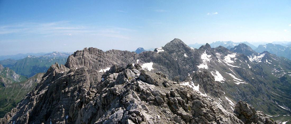 Foto: vince 51 / Wander Tour / Von Lech auf die Hochlichtspitze / 17.07.2009 23:32:25