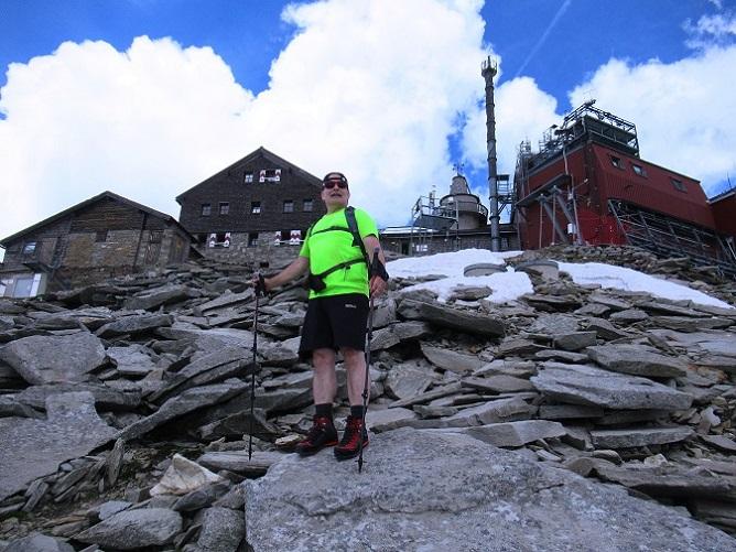 Foto: Andreas Koller / Wandertour / Über das Kleine Fleißkees zum Zittelhaus am Hohen Sonnblick (3106m) / Hoher Sonnblick - Gipfel / 16.10.2019 22:57:33