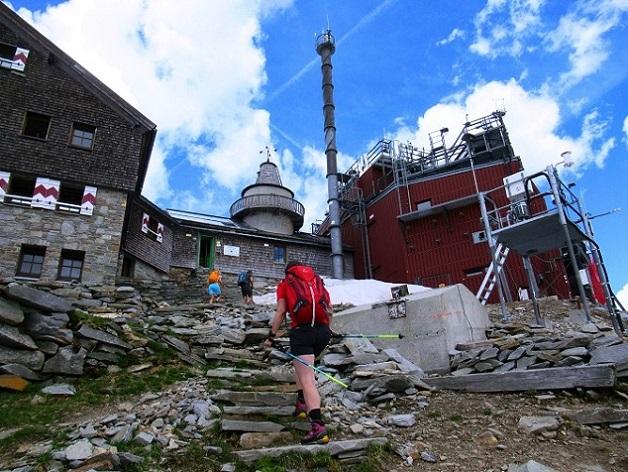 Foto: Andreas Koller / Wandertour / Über das Kleine Fleißkees zum Zittelhaus am Hohen Sonnblick (3106m) / 16.10.2019 22:57:14