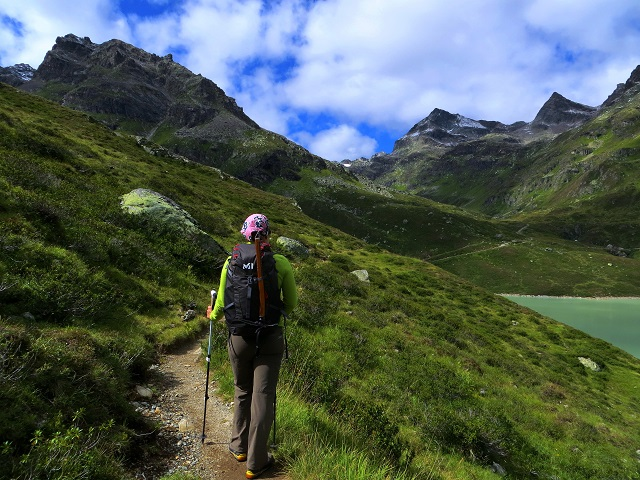 Foto: Andreas Koller / Wander Tour / Über die Wiesbadner Hütte auf den Ochsenkopf (3057 m) / 08.11.2017 02:17:37