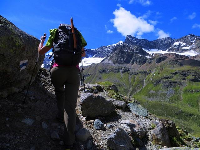 Foto: Andreas Koller / Wander Tour / Über die Wiesbadner Hütte auf den Ochsenkopf (3057 m) / 08.11.2017 02:16:24