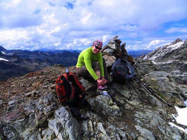 Foto: Andreas Koller / Wander Tour / Über die Wiesbadner Hütte auf den Ochsenkopf (3057 m) / Am Ochsenkopf / 08.11.2017 02:12:23